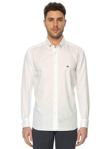 Etro Uzun Kollu Klasik Gömlek Beyaz